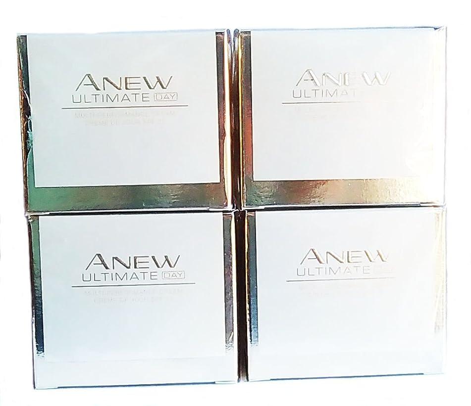 4 x AVON Anew Ultimate Multi-Performance Day Cream 50ml - 1.7oz SET !