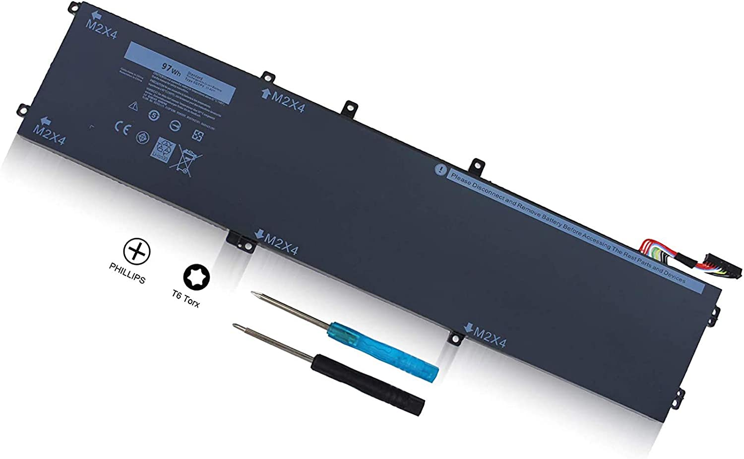 6GTPY 11.4V 97WH Battery for Dell Limited time cheap Nashville-Davidson Mall sale XPS 15 9560 P56 9550 P56F 9570