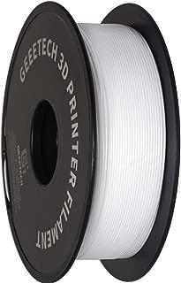 PLA Filament 1.75mm, Geeetech 3D Printer PLA Filament,1.75mm,1kg per Spool,White