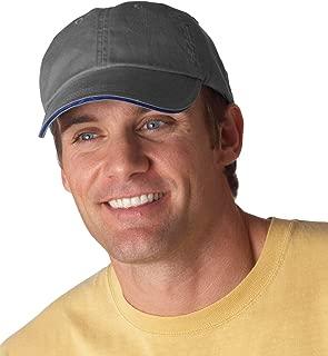 Anvil Men's Low Profile Sandwich Trim Pigment Dyed Twill Cap