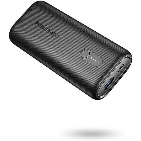 Huawei iPhone Airpods Samsung POWERADD Bater/ía Externa 10000mAh Power Bank 18W Cargador Portatil Ultra Compacto Bater/ía Port/átil Carga Rapida QC 3.0 para Xiaomi Tablets y M/ás Dispositivos