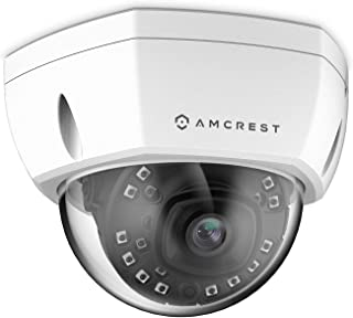 Amcrest UltraHD 4K (8MP) Outdoor Security POE IP Camera, 3840x2160, 98ft NightVision, 2.8mm Lens, IP67 Weatherproof, IK10 ...