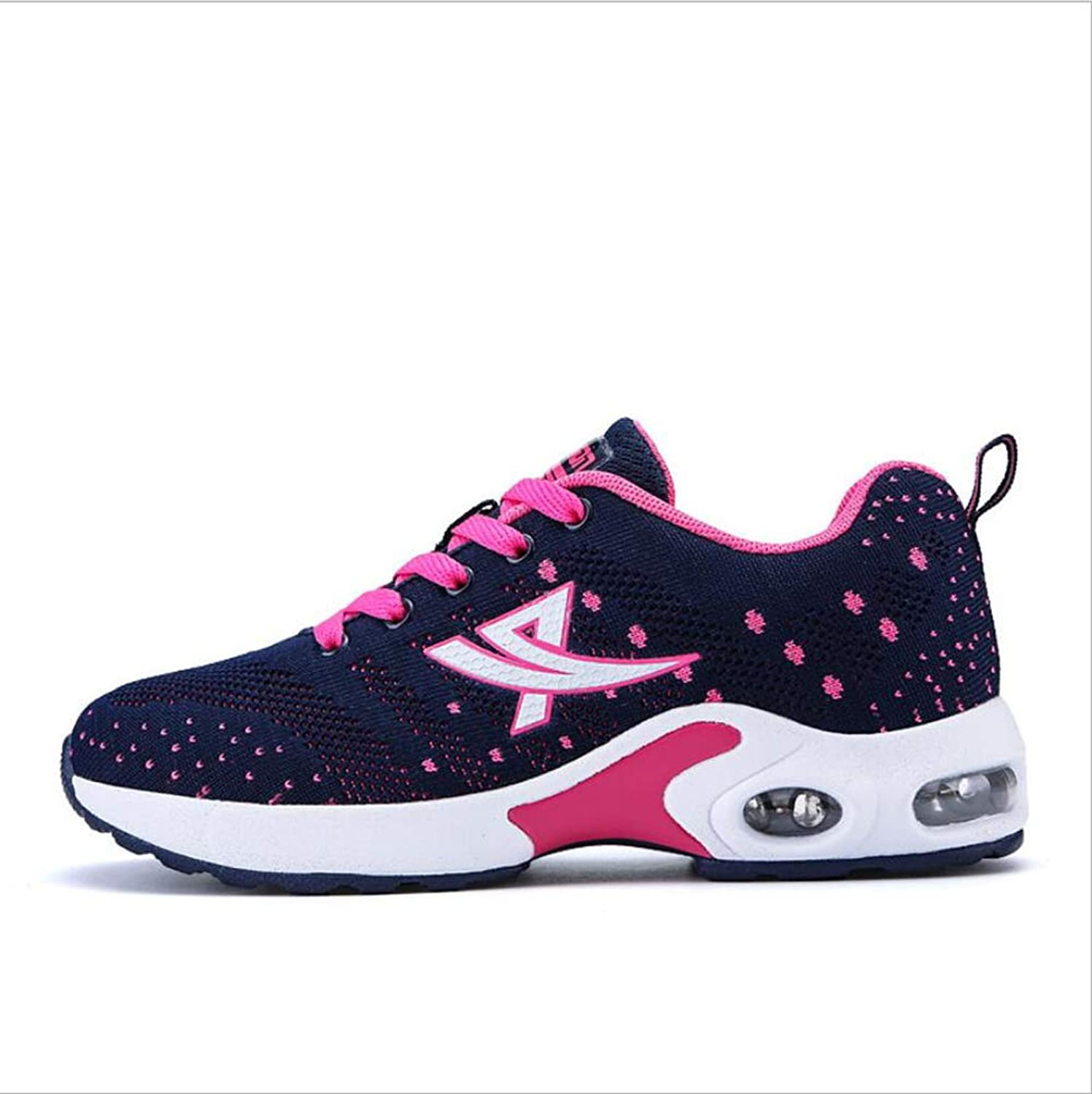 MhC Women's Sneakers,Damping Breathable Athletic Sneakers,Lightweight Comfort Trainers shoes Camping Spring Fall Sneakers for Gym