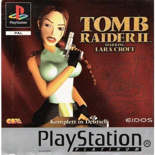 Tomb Raider II - Platinum [Sony PlayStation]