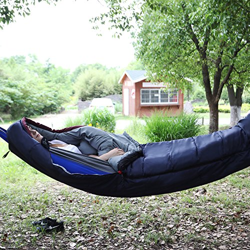 REDCAMP Hammock Mummy Sleeping Bag for Adults, Portable...