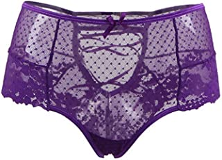 ILUCI Sexy Lingerie for Women for Sex Womens Lace Plus Size High Waist G-String