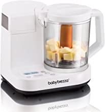 Baby Brezza Glass Baby Food Maker – Cooker and Blender to Steam and Puree Baby Food for..