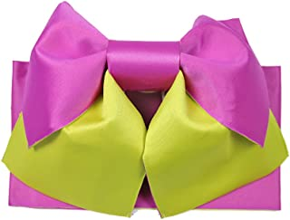 حزام أوبي بسيط وسهل للنساء من كيويتسو لكيمونو يوكاتا الياباني