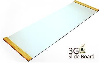 3G Ultimate Skating Trainer - Slide Board 6ft x 2ft Premium Thick