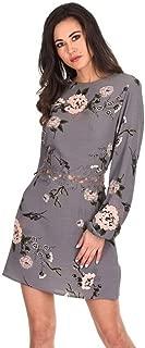 grey crochet lace skater dress