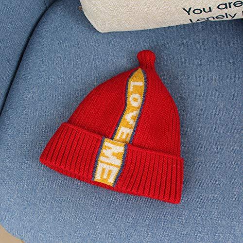 Fashion items Baby woolen hat for autumn and winter new warm children's woolen hat fashion