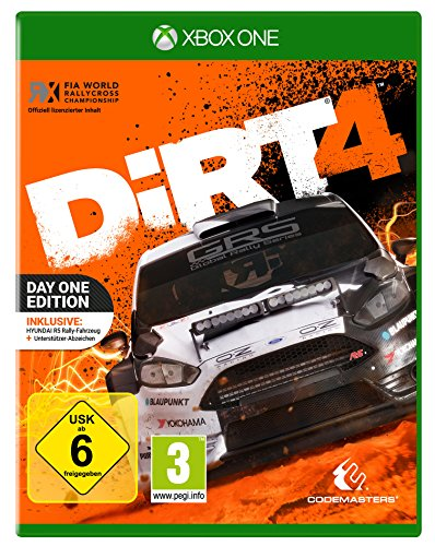 DiRT 4 - Day One Edition mit Steelbook (exkl. bei Amazon.de) - [Xbox One]