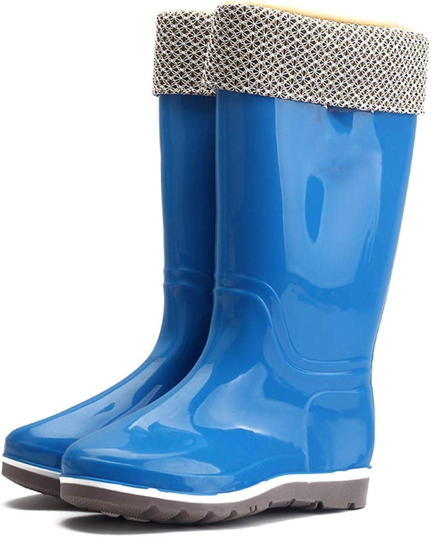 Fancyww Women Waterproof Tall Rain Boot