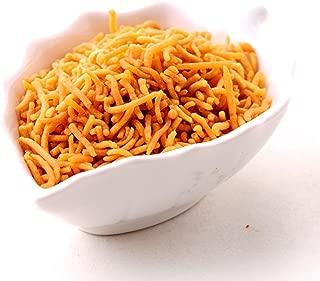 Popular (Mumbai) Tikka Lahsun Sev Indian Namkeen Snacks Mixture - 200 gm