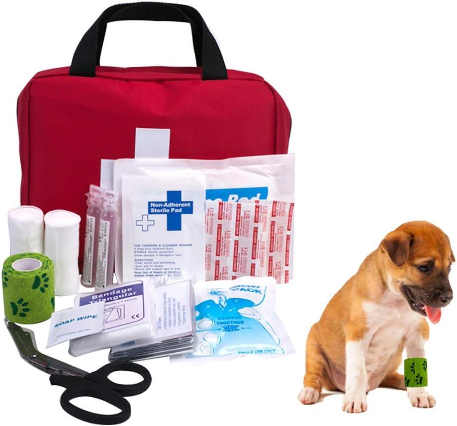 kit primeros auxilios camping perros
