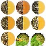 VAHDAM, Sampler für grünen Tee - 10 TEE SET, 50 SERVIEREN 100% NATÜRLICHE ZUTATEN | Detox Tee &...