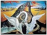 Artopweb EC40123 Panel Decorativo - Dalì 'Bacchanale', Madera, Multicolor, 70x1.8x50 cm