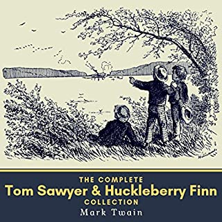 The Complete Tom Sawyer & Huckleberry Finn Collection                   By:                                                                                                                                 Mark Twain                               Narrated by:                                                                                                                                 Henry Adams                      Length: 21 hrs and 43 mins     3 ratings     Overall 4.7