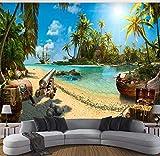 Fondo de pantalla Foto 3d Fondo de pantalla Pirata mágica del tesoro de la isla del tesoro Fondo 3d Fondo de pantalla, 400 × 280 cm