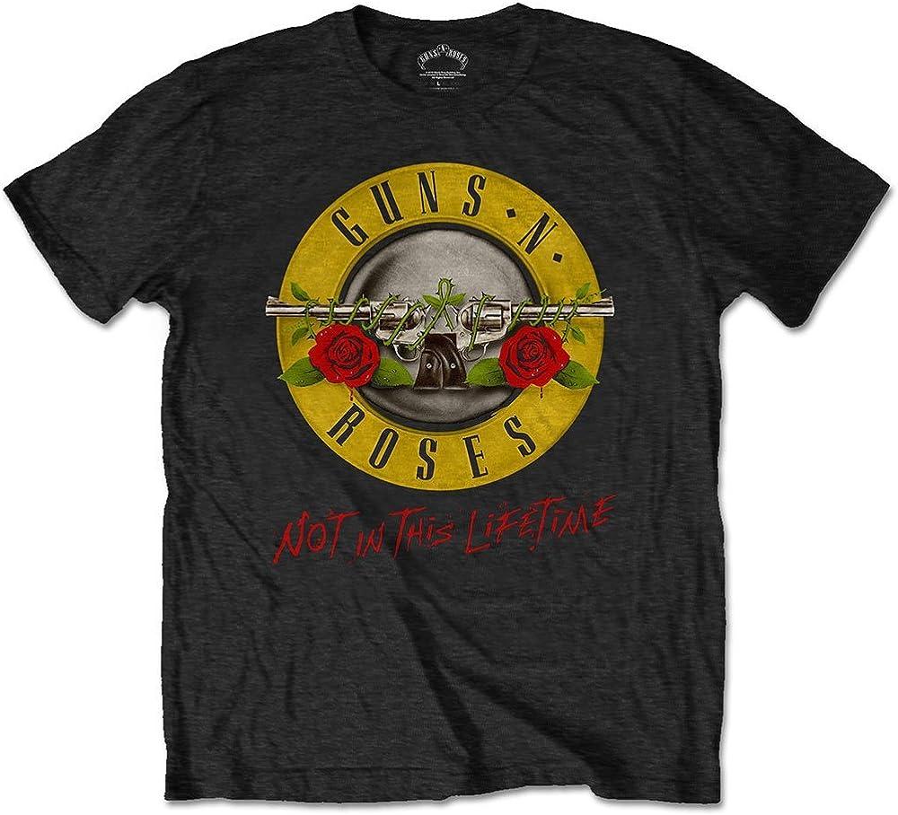 Guns N Roses T Shirt Not in Logo Lifetime shop Columbus Mall This Band Officia Tour