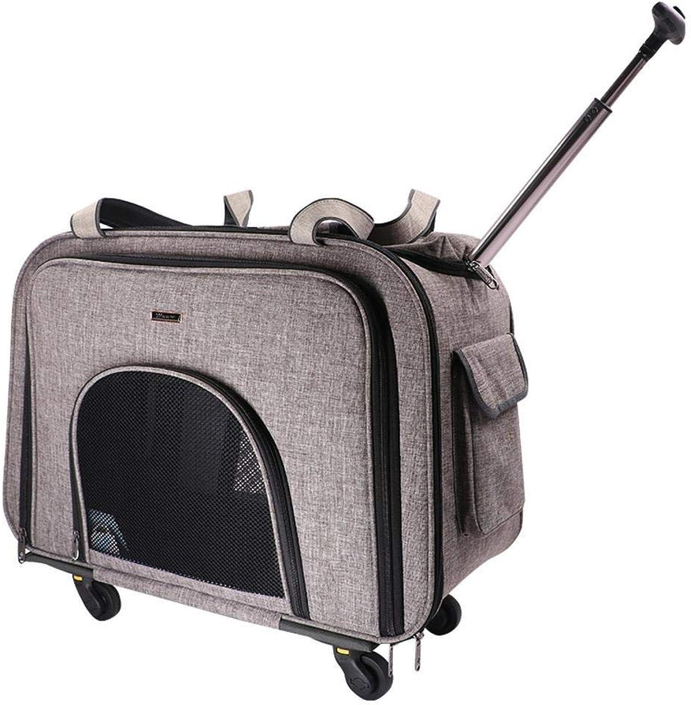 Aoligei Trolley Case Out Portable Trolley Bag 58x38x32cm