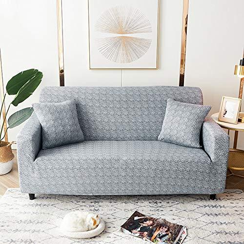 PPMP Fundas de sofá geométricas elásticas Fundas de sofá elásticas para Sala de Estar Funda sofá Silla Funda de sofá Decoración para el hogar Funda de sofá A11 1 Plaza
