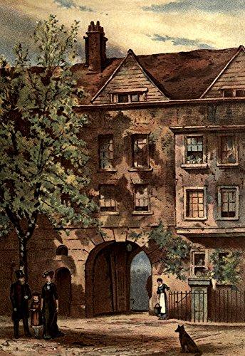Preisvergleich Produktbild The Poster Corp Waldo Sergeant Old London 1900 Staple Inn Holborn Kunstdruck (45, 72 x 60, 96 cm)
