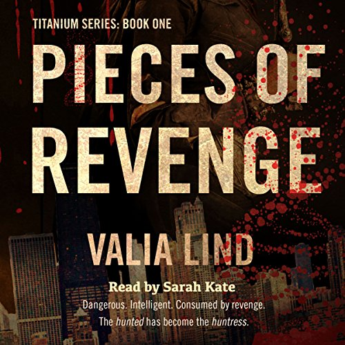 Pieces of Revenge audiobook cover art