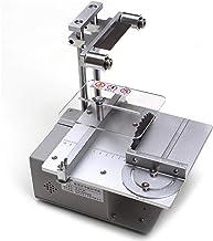FEEE-ZC Sierra de Mesa pequeña Multifuncional de 12-24 V, Sierra eléctrica en Miniatura de 2500-5000 RPM, Sierra de precisión de Escritorio para Bricolaje, máquina cortadora pequeña, taladradora