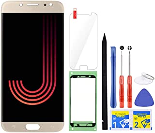 iFixmate LCD Screen Replacement for Samsung Galaxy J7 Pro (Gold) with Touch Digitizer Display Assembly for J730 2017 J730G...