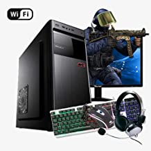Pc Gamer Completo Intel Core, 8GB RAM, Monitor LED, Kit Gamer Teclado, Mouse e Headset + Wi-fi Oferta!!