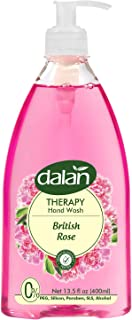 Dalan Therapy British Rose Ultra Moisturizing Liquid Hand Soap for Normal and Dry Hands Fresh Clean and Soft Feeling (13.5...