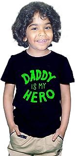FMstyles Daddy is my Hero Kids Unisex Tshirt FMS360