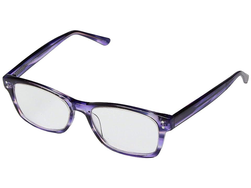 Corinne McCormack Edie Reading Glasses (Purple) Reading Glasses Sunglasses