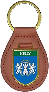 Kelly Family Crest Coat of Arms Key Chains