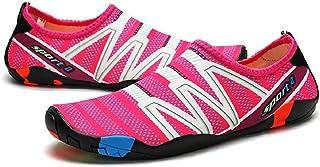 Water Shoes Colour Beach Shoes Shoes Beach Shoes Surf Shoes for Men Women Red Size: 9 UK