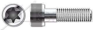 (1000 pcs) M3-0.5 X 8mm, ISO 14579, Metric, 6-Lobe Torx(r) Socket Cap Screws, A2 Stainless Steel