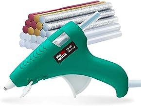 Hot Glue Gun, NEU MASTER Upgraded High Temp Mini Glue Gun Kit with 24pcs Mini Glue Sticks, Anti-drip Melting Hot Melt Glue...