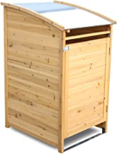Habau 3151 Mülltonnenbox 240 Liter, 81 x 92 x 124 cm