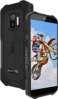 OUKITEL WP12 SIMフリー スマホ 本体 防水防塵耐衝撃 Android 11 スマートフォン 4000mAhバッテリーシムフリースマホ、32GB+4GB(256 GB拡張可能)、5.5インチ、デュアル4G SIM、IP68防水、1...