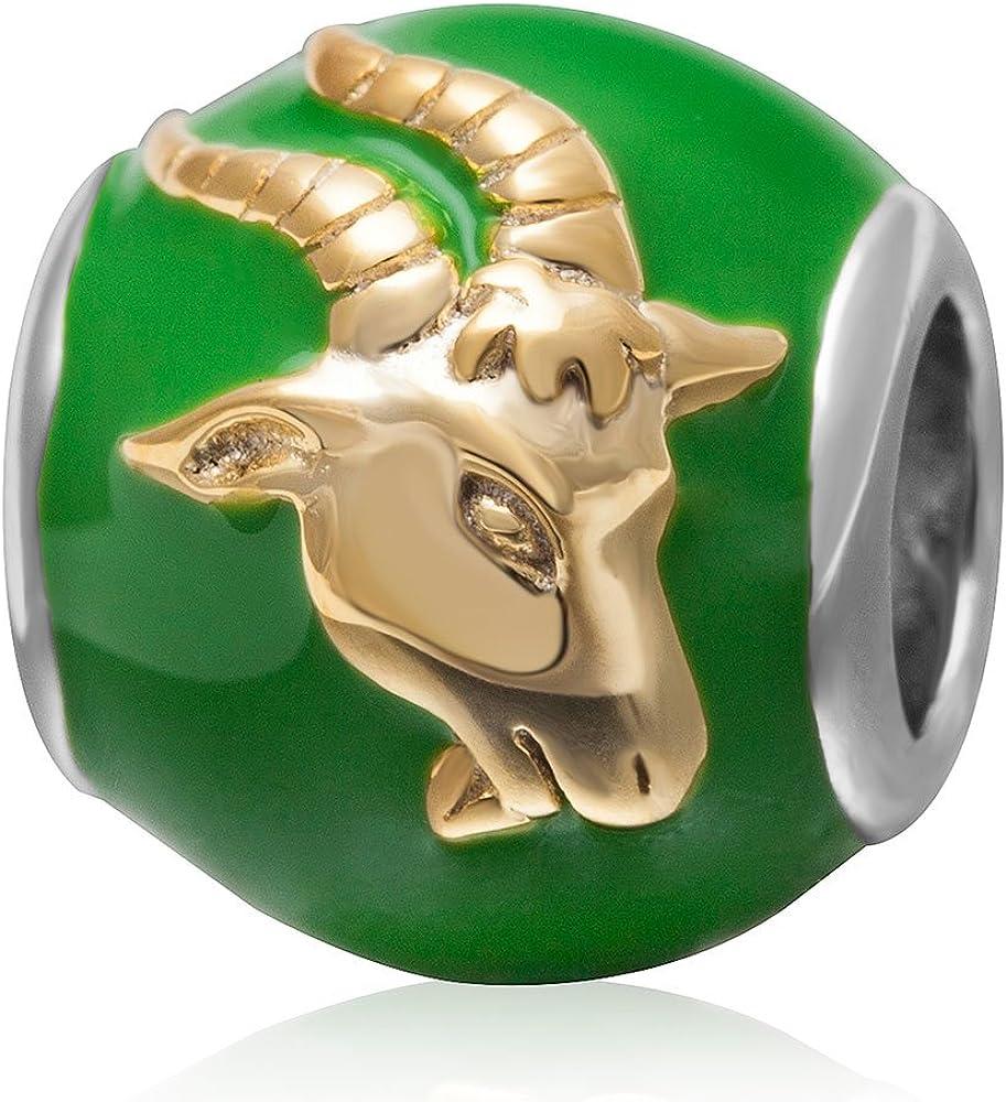 Birthday Zodiac Sign Charms Original 925 Silver Sale latest price Sterling Enamel