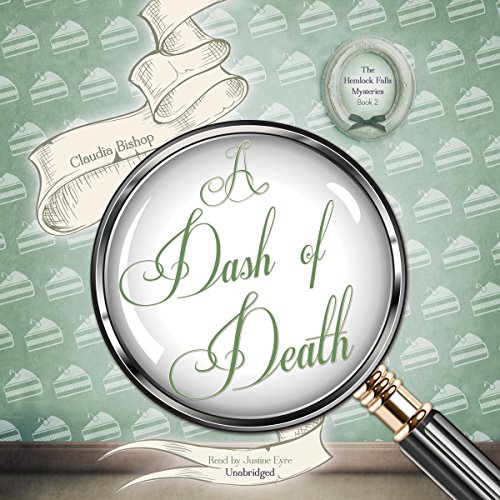 A Dash of Death audiobook cover art