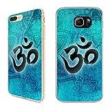 Handyhülle für Samsung Silikon Om Yin Yang Goa Mandala Buddha Peace Yoga PSY, Hüllendesign:Design 6 | Silikon Klar, Kompatibel mit Handy:Samsung Galaxy S9 Plus