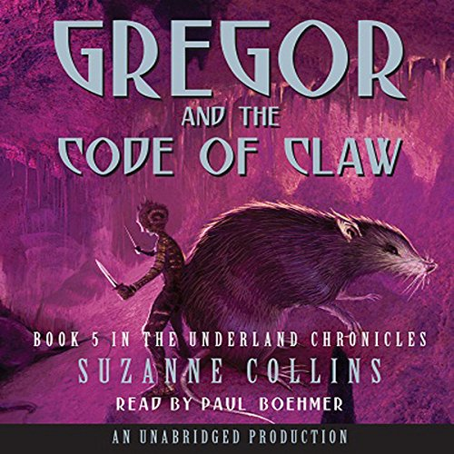 Gregor and the Code of Claw cover art
