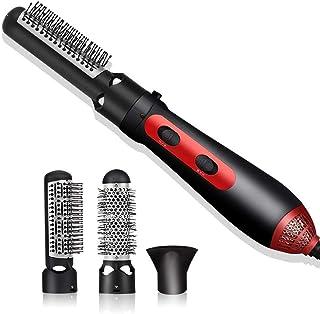 Cepillo de aire caliente, cepillo de secador de pelo de un paso y volumen 3 en 1 Secado para el cabello Cepillo de Styler Cepillo Mujer Negativo Plancha iónica Curler de peine para peinado wmpa
