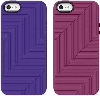 Belkin Flex Case for iPhone 5 and 5S, 2 Pack (Blue & Violet)