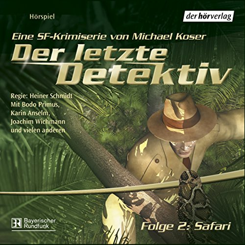 Safari (Der letzte Detektiv 2) audiobook cover art