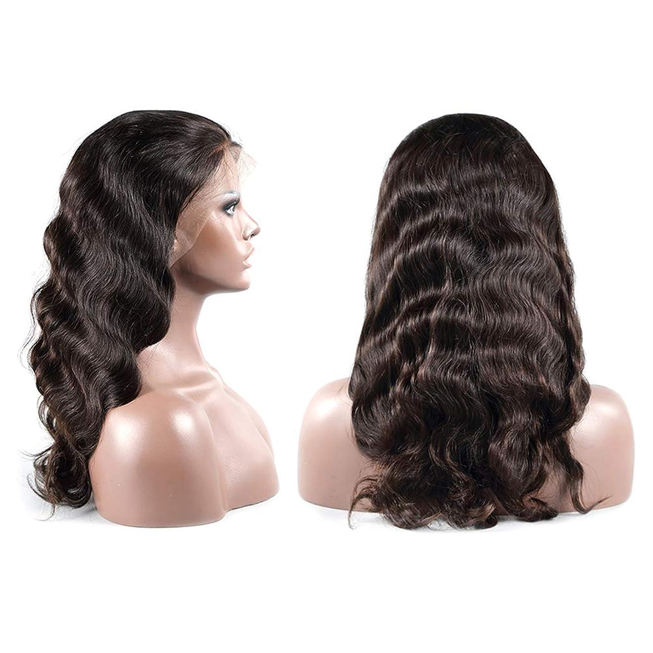 回転文献決定女性ファッション長い巻き毛のかつらフロントレースカールかつら自然に見える絶妙な弾性ネットかつらカバー(LS-036)