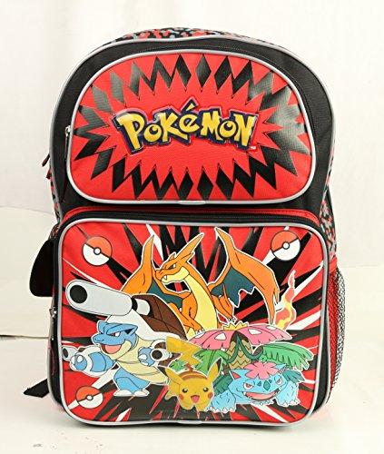 Pokemon Large Backpack 16'