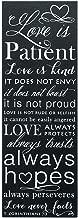 Dicksons 1 Corinthians 13 Love is Patient Wall Plaque 5